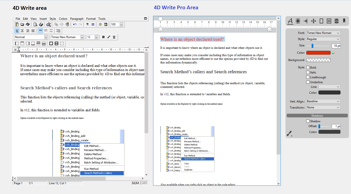 Converting 4D Write documents to 4D Write Pro